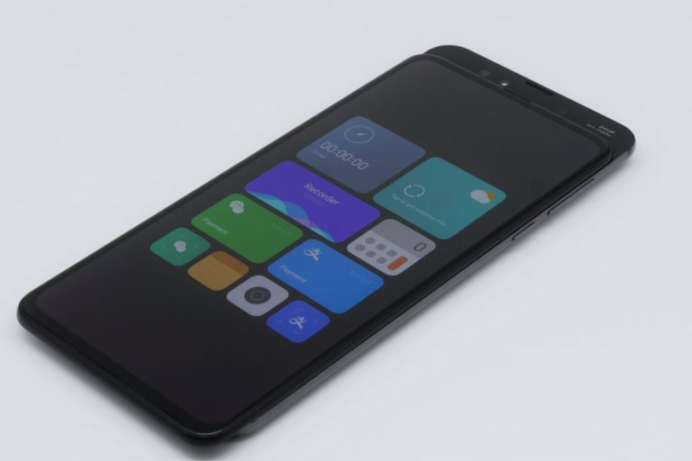Xiaomi Mi Mix 3 okostelefon teszt 10