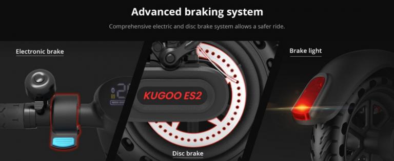 Új Kugoo ES 2 roller 6