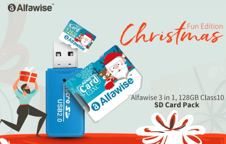 Alfawise micro SD és olvasó 5