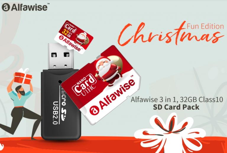 Alfawise micro SD és olvasó 3