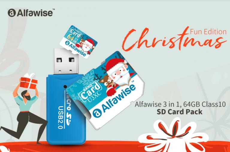 Alfawise micro SD és olvasó 4