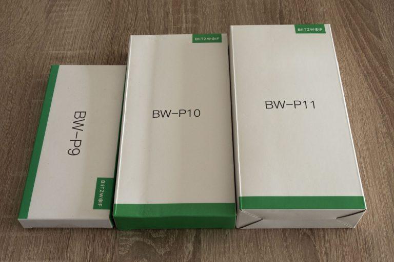 BlitzWolf P9, P10, P11 powerbankok tesztje 2