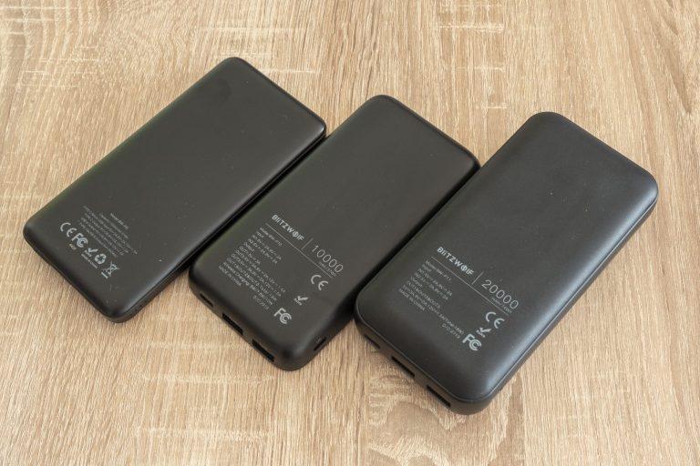 BlitzWolf P9, P10, P11 powerbankok tesztje 9