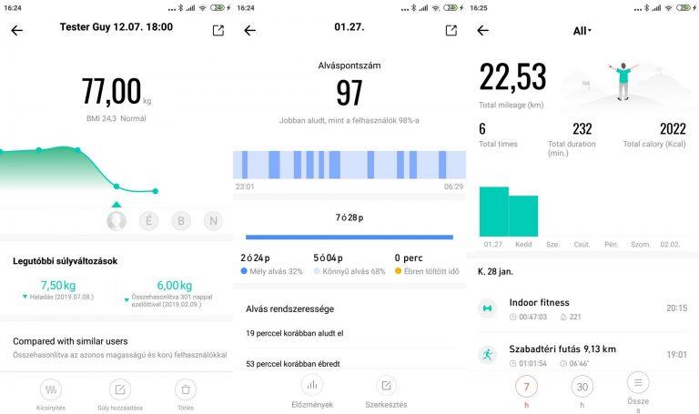 Xiaomi Amazfit Stratos 3 okosóra teszt 12