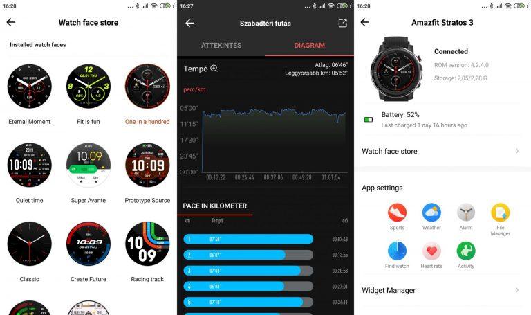 Xiaomi Amazfit Stratos 3 okosóra teszt 15