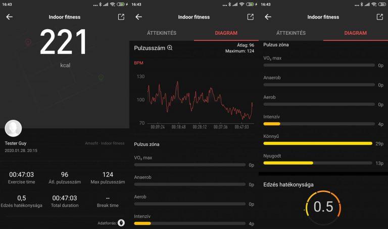 Xiaomi Amazfit Stratos 3 okosóra teszt 17