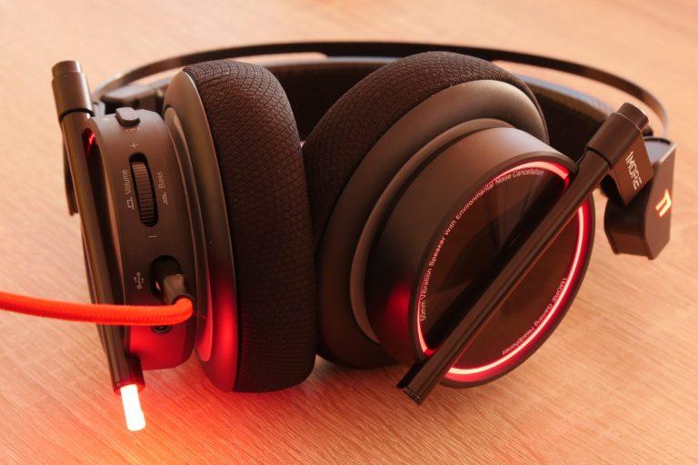 1More Spearhead VR gamer fejhallgató teszt 12