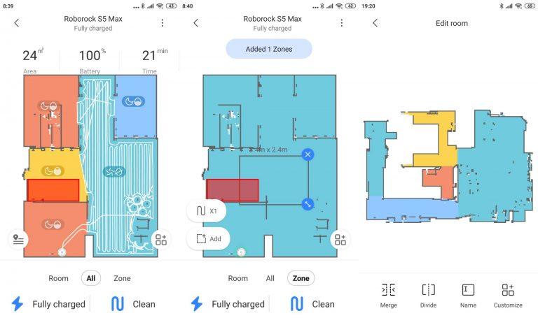 Xiaomi Roborock S5 Max robotporszívó teszt 15