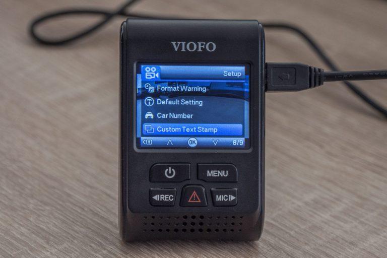 Viofo A119 V3 autós DVR teszt 20