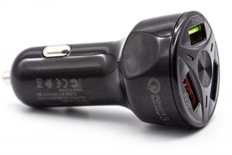 Háromportos szivargyújtós USB töltő 5