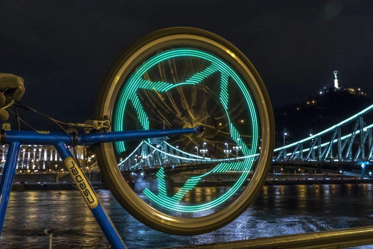 Kerékpáros küllőfény teszt 4